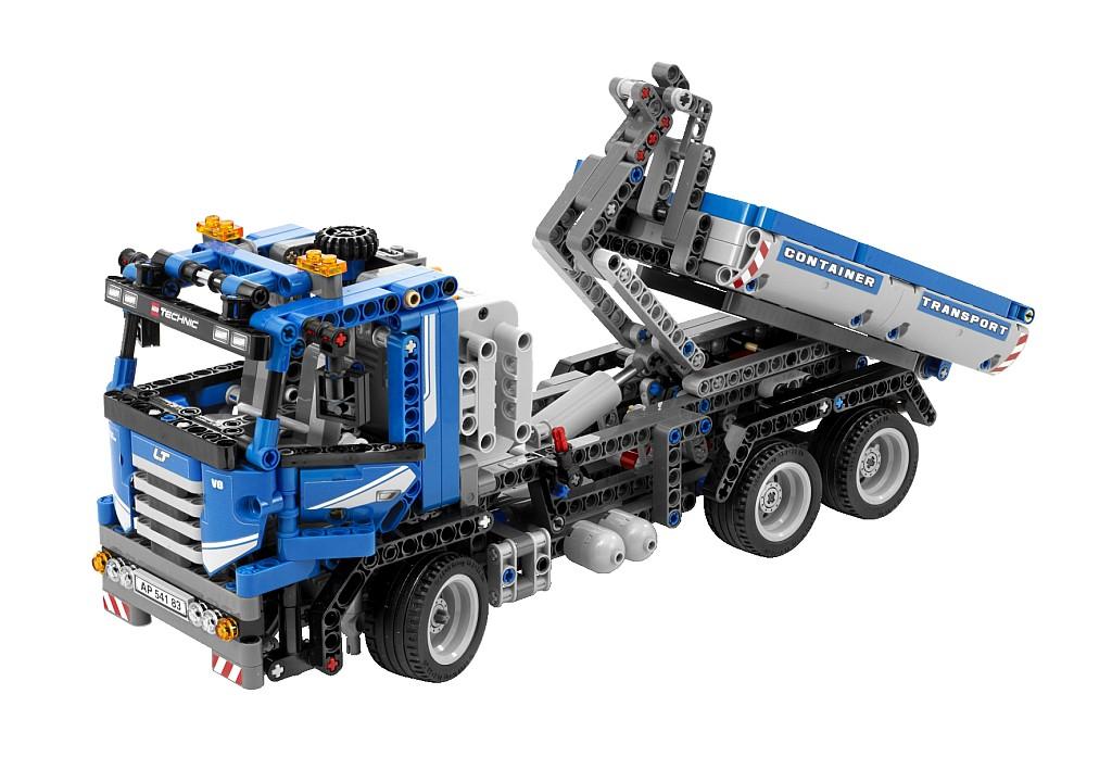 stokebloke blog blog archive technic lego 8052 container truck. Black Bedroom Furniture Sets. Home Design Ideas